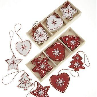 Heaven Sends Scandi Christmas Decorations