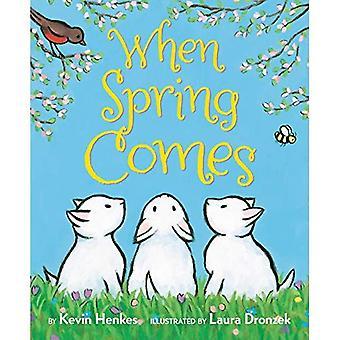 When Spring Comes [Board book]