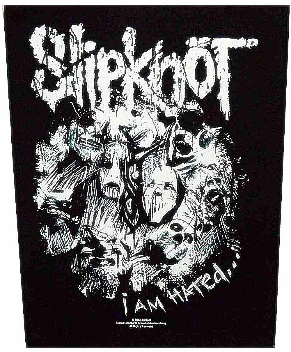 Slipknot I Am Hated large sew-on back patch  (ro)