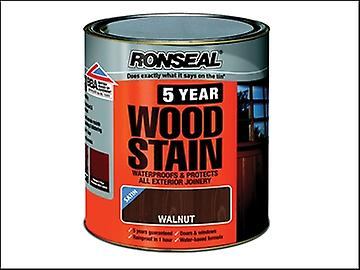 Ronseal 5 Year Woodstain Walnut 250ml