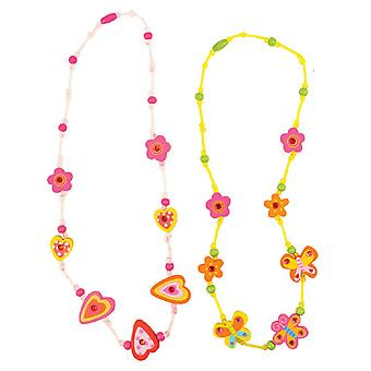 Bigjigs Toys Snazzy Wooden Necklaces