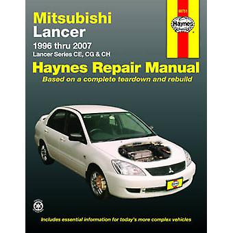 Mitsubishi Lancer Automotive Repair Manual - 9781563929403 Book