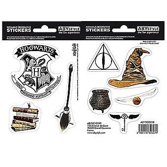Harry Potter Magical Objects (2 ark) sett med vinyl klistremerker 160mm x 110mm (Aby)