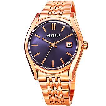 August Steiner Women's AS8235RGBU Quartz Watch with Stainless-Steel Strap