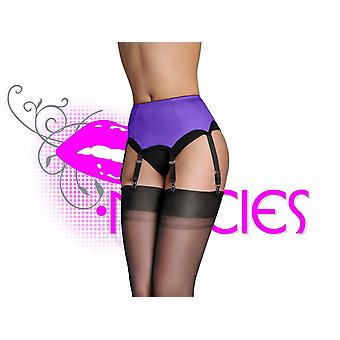 Nancies Lingerie Lycra 6 Suspender / Garter Belt for Stockings (NL2p)