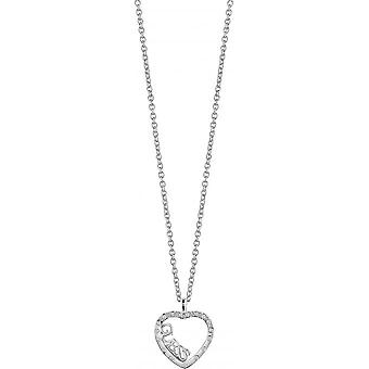 Necklace and pendant Guess Love.Affair UBN83113 - necklace and pendant set with Logo heart woman