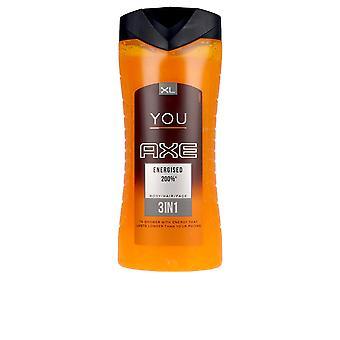 Axe You Energised Shower Gel 400 Ml For Men