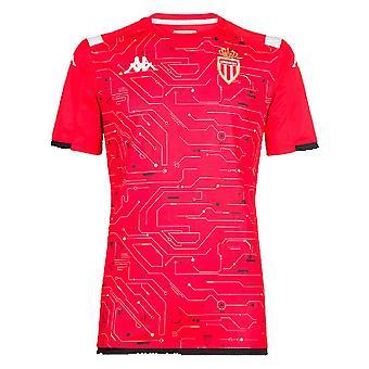 2019-2020 Monaco Pre Match Training Shirt (Red)