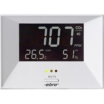 Carbon dioxide detector ebro RM 100 0 - 3000 ppm thermometer