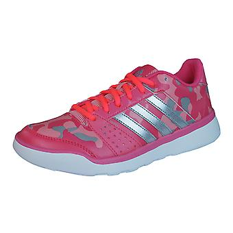 adidas Essential Fun Womens Fitness Trainers / Shoes - Pink