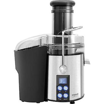 Juicer CASO 800 W Stainless steel, Black with display