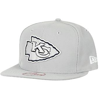 New era 9Fifty Snapback Cap - NFL Kansas City Chiefs grey