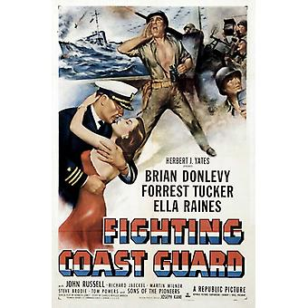 Lucha contra guardacostas Movie Poster Print (27 x 40)