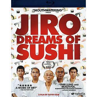 Jiro Dreams av Sushi [BLU-RAY] USA import