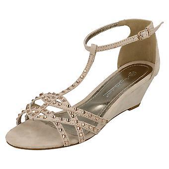 Ladies Anne Michelle Wedge Sandals F10277