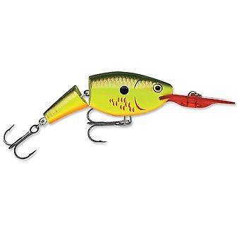 Rapala Jointed Shad Rap 04 Fishing Lure - Bleeding Hot Olive
