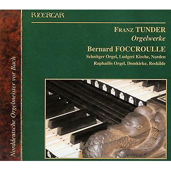 F. Tunder - orgelværker [CD] USA import