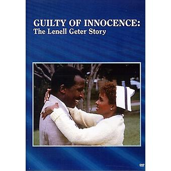 Guilty of Innocence: The Lenell Geter Story [DVD] USA import