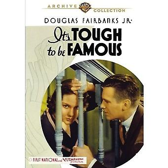 It's Tough to Be Famous (1932) [DVD] USA import