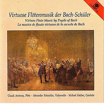 Kirnberger/Abel/Muthel/Bach, C. - Virtuoso Flute Music by Bach's Pupils [CD] USA import