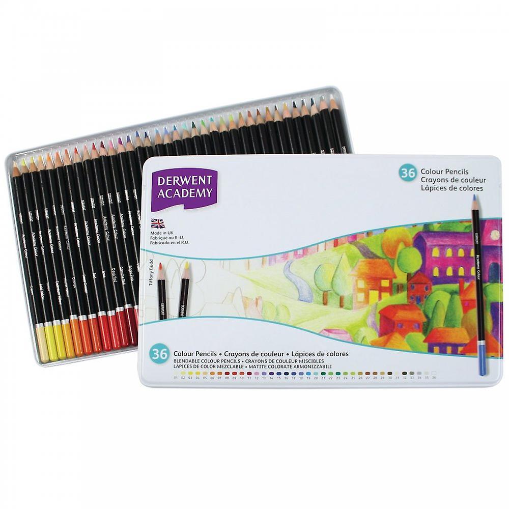 Derwent Academy Colouring 36 Tin