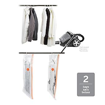 Neatfreak X-Large Hanging Double Gusset Vacuum Bags, Set of 2 (Clear)