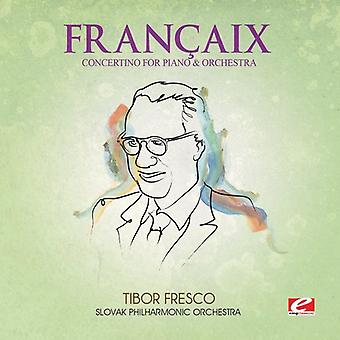 Francaix - Concertino Piano & Orch [CD] USA import
