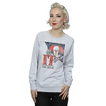 IT Women's Distressed Poster Sweatshirt