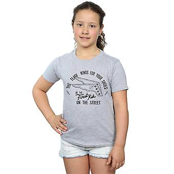 DC Comics Girls Flash Shoes T-Shirt