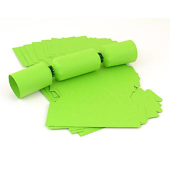 12 MINI Lime Green Make & Fill Your Own Cracker Boards