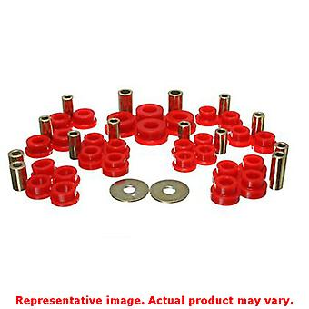 Energy Suspension 19.3103R Red Rear Energy Suspension Control Arm Bushing Set F