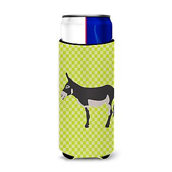 American Mammoth Jack Donkey Green Michelob Ultra Hugger for slim cans