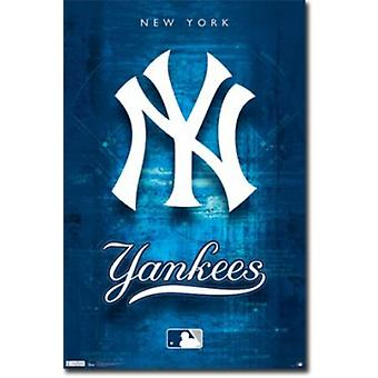 New York Yankees logotipo Poster Poster Print