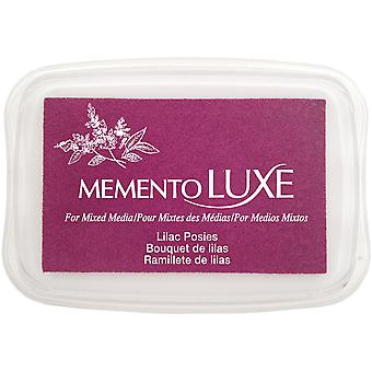 Memento Luxe Ink Pad-Lilac Posies ML-501