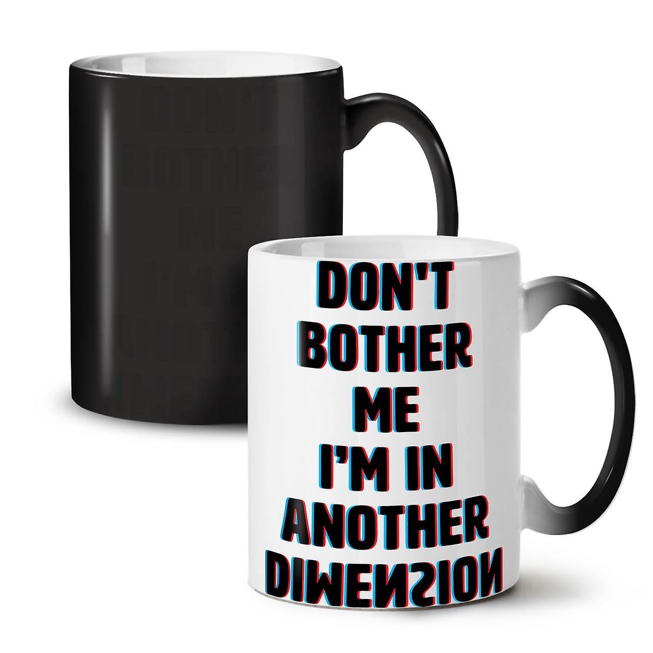 Changeant Une Nouvelle Autre Dimension Couleur Thé Céramique 11 Drôle Noir Café Tasse OzWellcoda hdrCxtsQ