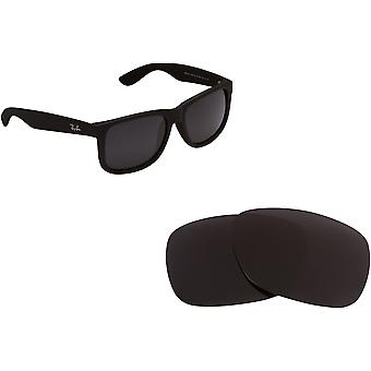 RB Justin 4165 Replacement Lenses by SEEK OPTICS to fit RAY BAN Sunglasses