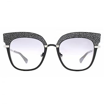 Jimmy Choo Rosy Sunglasses In Black Palladium