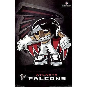 Atlanta Falcons - Rusher 2013 Poster Print