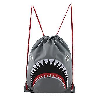 Veut dire requin gris Nylon sac à dos