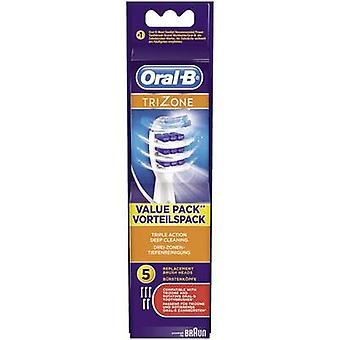 Electric toothbrush brush attachments Oral-B TriZone EB30- 5 5 pc(s)