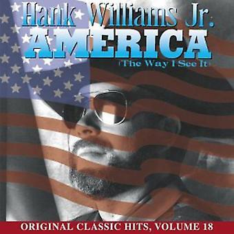 Hank Williams Jr. - América la manera de ver lo [CD] USA importar