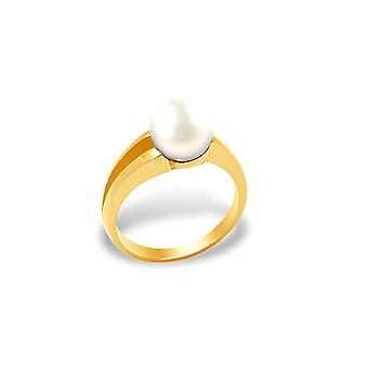 Ring Culture Pearl White and yellow gold 375/1000