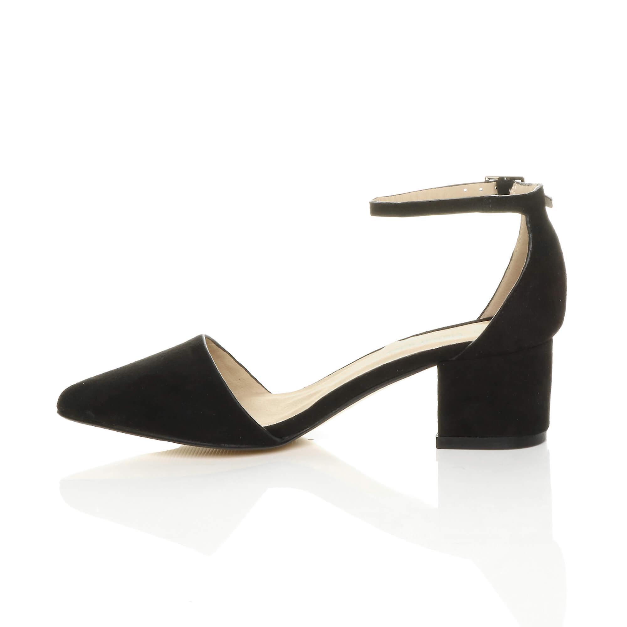 Ajvani donne a meta meta meta 'isolato il cinturino alla caviglia fatto festa di lavoro corte scarpe sandali. | Colore Brillantezza  d4ff49
