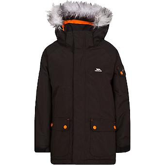 Trespass Boys Holsey Waterproof Windproof Padded Shell Jacket