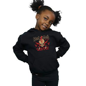 Black Sabbath Girls Skull Crest Hoodie