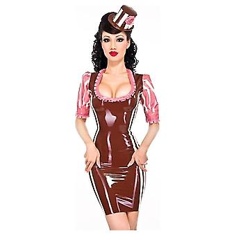 Westward Bound Madame Victoire Von Luc Latex Rubber Dress