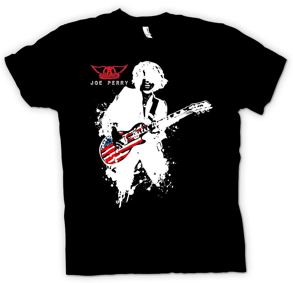 T-shirt - Aerosmith - Joe Perry - Guitare