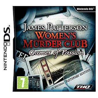 Womens Murder Club Games Of Passion (Nintendo DS) - Factory Sealed