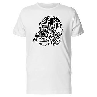 Monochrome Skull Rider Tee Men's -Image by Shutterstock