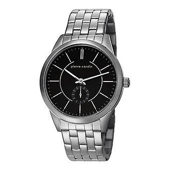 Pierre Cardin reloj reloj de pulsera TROCA negra PC106571F07